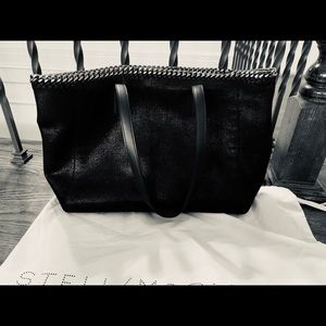 Stella MCartney black shoulder bag new condition